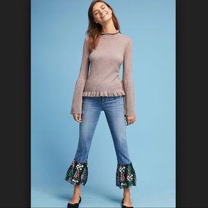 NWT Anthropologie Pilcro Mid-Rise Boyfriend Jeans